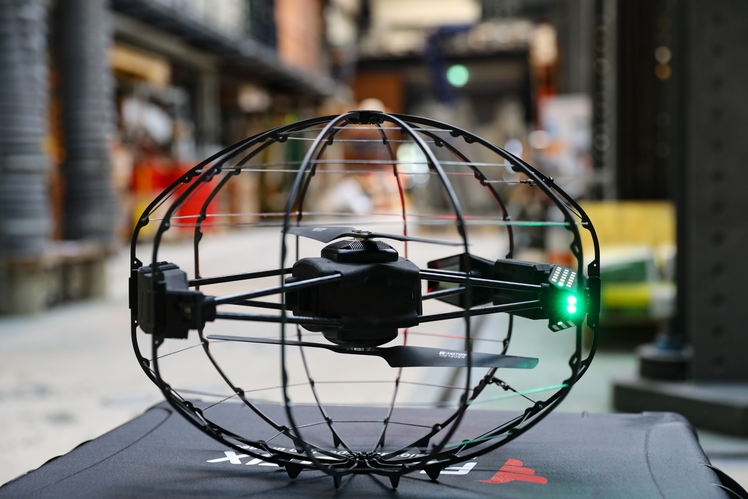 Solvay's ultra-lightweight and robust thermoplastic carbon fiber composites contribute to doubling ASIO drone flight time